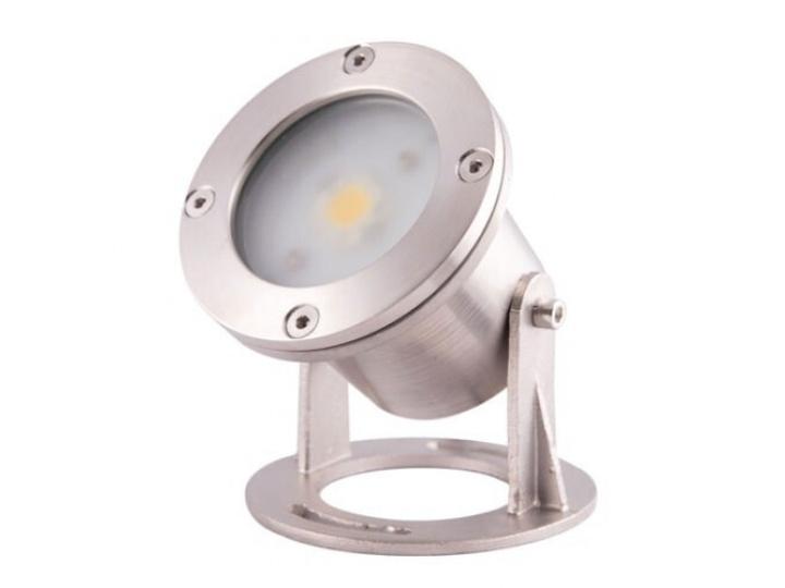 Прожектор LED AquaViva (1led 7W 12V) White для фонтана