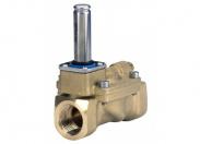 Клапан соленоидный EV210A, Ду 1.5мм, нерж. сталь, FKM, G1/8, нормально закрытый (032H8027)