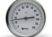 Термометр биметаллический WATTS T 63/50 0+160*С (F+R801) (10005806)