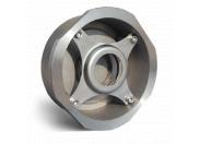 Клапан обратный Water Тechnics SCS WT DN 40 дисковый пружинный,  межфланцевый, нерж. сталь