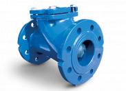 Клапан обратный  Water Тechnics CVU WT DN100 шаровой, фланцевый