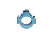 1031 Зажимное седло с метал. кольцом D75 / Rp1 1/2 PN16 Unidelta