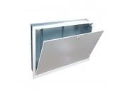 Шкаф коллекторный Giacomini встраиваемый из окрашенного листового металла 850x605x110 для R557R-2 от 4 до 5 соединений