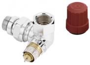 Клапан терморегулятора RA-NCX-15 угловой трехосевой левый хром Danfoss