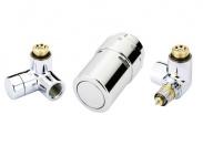Комплект терморегулятора RAX хром правый Danfoss