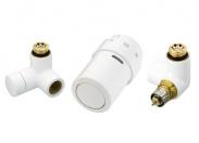 Комплект терморегулятора белый (RAL9016), правый Danfoss